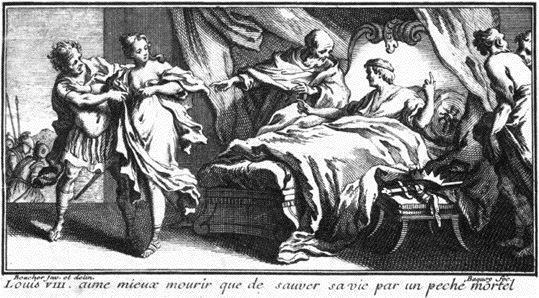 e042767649961d 1721 Louis VIII, mort pour avoir refusé de coucher avec une vierge