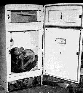 peut on mourir dans un frigo un article d 39. Black Bedroom Furniture Sets. Home Design Ideas