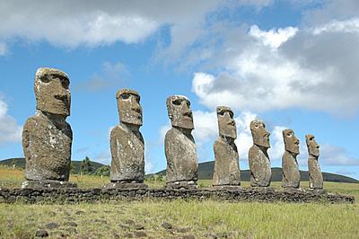 L 39 extinction de l 39 le de p ques un article d 39 for Les monuments les plus connus du monde