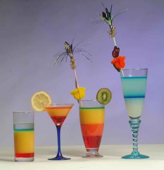 Faire des cocktails en etage