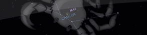 Les constellations du Zodiaque (5) : Le Cancer