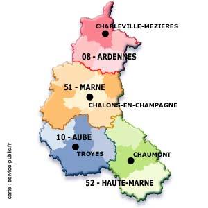 Cartes des Ardennes