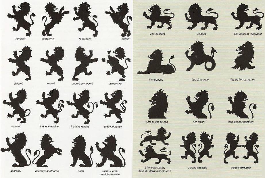 Deux l opards d 39 or passant sur fond de gueule un article for Lions du meuble